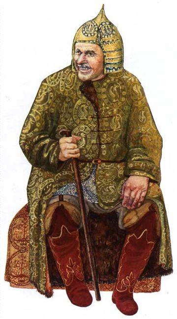 Приложение 2. Реконструкция костюма представителя аланской знати...