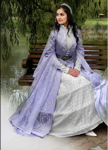 Свадебные платья кавказа фото